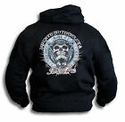 Muerte Motocicleta Lawless Pride Skull Death Biker Mens Womens Hoodie Top Sm-2XL