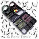 Carp Fishing Tackle Box Lead Clips Hooks Swivels Baiting Needles Terminal Rigs