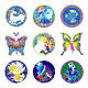 ILLUMINATION MANDALAS SUNSEAL WINDOW STICKER / DECAL - Fairies & Fantasy