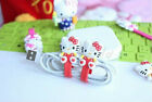 Hello Kitty iPhone 5S 5C 6 Plus Headphone Cable Cord Holder Organizer (2 Color)