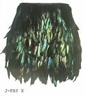 Women's Rooster Feather Skirt / EXQUISITE STYLE / SIZE S-M-L