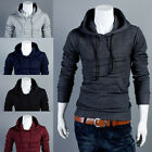 Mens Slim Fit Sexy Top Designed Hoodies Jackets Coats Tops 5Color 4Size Hot