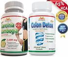 PURE GARCINIA CAMBOGIA EXTRACT+ COLON Cleanser/DETOX for WEIGHT LOSS/Digestion on eBay