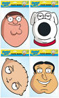 FAMILY GUY - LICENSED FACE MASKS - 4 CHOICES + MULTIPACK OPTION - ALL FREE P&P