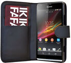 SONY XPERIA SP M35h Leather Wallet Case Cover Pouch Bookcas - EXPERIA SP Wallet