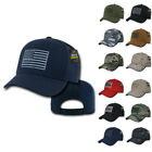 Patriotic USA American Flag Patch Tactical Operator Cotton Baseball Hats Caps