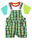Deux par Deux Baby Boys' Overall Puff Doggy, Sizes 12M, 18M, 24M