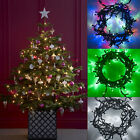 24m 40m 64m Connectable Indoor/Outdoor LED Xmas Fairy Lights, Lights4fun Type CC