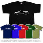 MG F MGF 1995-1999 INSPIRED CLASSIC CAR T-SHIRT - CHOICE OF COLOURS (S-XXXL)