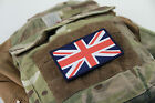 Brand New British Army Union Jack Flag Patch Velcro Backed ALL COLORS AIRSOFT