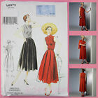 Vogue V8973 Sewing Pattern Misses' Vintage Dress & Belt - Vintage 1950's Vogue