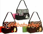 ★New 3pcs Giraffe Zebra Baby Nappy Changing Bags Large Sizes 3 Designs NEW