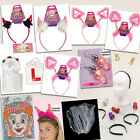 HEN Party Flashing Furry Head Wear Willy Boppers Devil Horns Earrings Veils