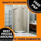 Corner Quadrant Glass Shower Enclosure Cubicle Sliding Door 800 900 Easy Clean