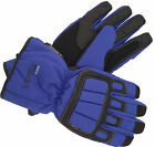MOTORCYCLE MOTORBIKE SCOOTER RS VECTOR MAX  WATERPROOF  LEATHER GLOVES BLUE