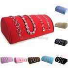 Half Round Pillow Watch Bracelet Necklace Holder Display Hand Rest Colour Choice