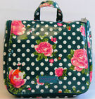 Large Vintage Roses Cosmetic Bags by Danielle Creations