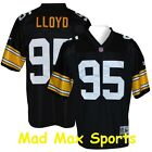 GREG LLOYD Pittsburgh STEELERS Home Black NFL Premier THROWBACK Jersey Sz S-XXL