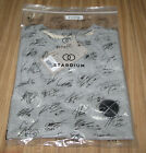 EXO DDP STARDIUM SM OFFICIAL GOODS GRAY HUG SYMBOL T-SHIRT NEW