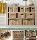 TETBURY Storage Unit, Large chest of drawers, storage baskets, FULLY ASSEMBLED