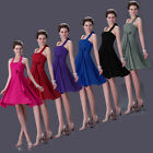 stock Cocktail Evening Prom Ball Fomal Wedding Gown Bridesmaid Short Party Dress