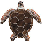 Mosaic Loggerhead Turtles Swimming Pool Wall Table Bar Counter Top Patio Deck