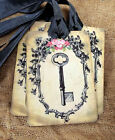 Hang Tags  VINTAGE STYLE SKELETON KEY TAGS or MAGNET #350  Gifts Tags