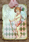 Hang Tags VINTAGE ANGEL CUPID CHERUB TAGS or MAGNET 92 Gift Tags