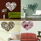 HEART WALL STICKERS! Cute Girly Transfers, Interior Love Heart Graphic Art Decor