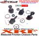 XRF BALL JOINT KIT Ford 4x4 F250 F350 Super Duty 2 Upper & 2 Lower 1999 - 2016