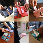 Womens Multi Trifold Wallet Multi Card Slots Case - Episode Pass Wallet V.2