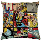 MARVEL LICENSED MIGHTY THOR COMIC STRIP PILLOW CUSHION 45x45cm **NEW**