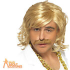 Keith Lemon Wig & Moustache Costume Game Show Celebrity Juice Fancy Dress Mens