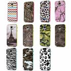 New More Style Hybrid Rubber Hard Case Cover for Samsung Galaxy S5 S V i9600 BKD