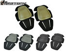 3Color New Airsoft Tactical Paintball G3 Protective Knee Pads for Pant Tan/FG B
