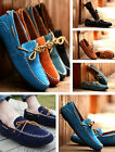 New Mens Casual Loafers Moccasins Slip on Shoes with lace detail UK Size 6-9.5