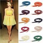 New girl Fashion candy color thin waist belt