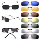 Clip On Driving Glasses Sunglasses Car Holiday Polarized Fishing Trips Black