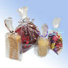 Clear Cellophane Gusset Bags of Various Sizes and Quantities