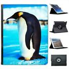 King Emperor Penguin Folio Wallet Leather Case For iPad 2, 3 & 4
