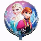 10pc Frozen Queen Elsa Foil Round Balloons For Kids Birthday Party 45cm 17.7""