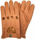 REAL SOFT LEATHER MEN'S TOP QUALITY DRIVING GLOVES STYLISH FASHION D-507 All  фото