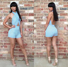 Sexy Clubwear Cocktail Party Club Dress Bandage Body-con Halter Jumpsuit