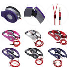 3.5mm Headphone Earphone Earbuds Headset Stereo fr iPhone iPod MP3 MP4 PC Tablet