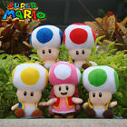Super Mario Bros Plush Toy Toad Cuddly Collectible Nintendo Stuffed Animal Doll