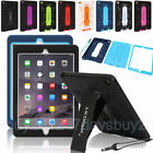 Hybrid Shockproof Adjustable Kickstand 2-in-1 Case Cover For Ipad 2 3 4/mini/air