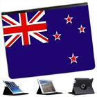 New Zealand Flag Folio Wallet Leather Case For iPad 2, 3 & 4