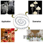 New Charm Chain Crystal Glass Chandelier Wedding Curtain DIY 14mm Bead Deco