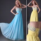Homecoming Sequin Long Maxi Bridesmaid Wedding Prom Ball Gown Formal Party Dress