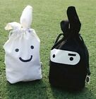 FD783 Ninja Rabbit Multifunction Laundry Lunch Pouch Cosmetic Case Storage ~1PC~